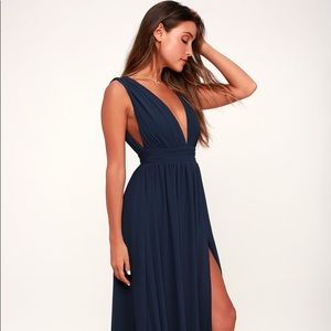 Lulus heavenly hues maxi dress